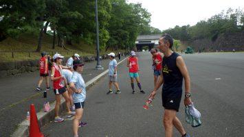 2018/05/30の颯走塾水曜マラソン練習会in皇居7