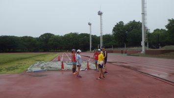 2018/06/06の颯走塾水曜マラソン練習会in織田フィールド2