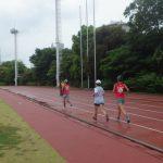 2018/06/06の颯走塾水曜マラソン練習会in織田フィールド4