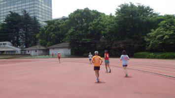 2018/06/13の颯走塾水曜マラソン練習会in織田フィールド4