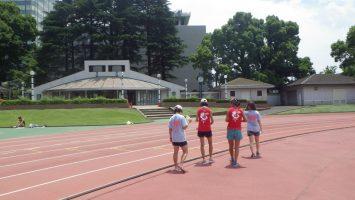 2018/06/13の颯走塾水曜マラソン練習会in織田フィールド8
