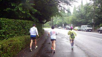 2018/06/20の颯走塾水曜マラソン練習会in東宮1