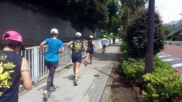 2018/0/25の颯走塾水曜マラソン練習会in東宮2