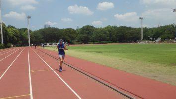 2018/08/01の颯走塾水曜マラソン練習会in織田フィールド5