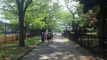 2018/08/01の颯走塾水曜マラソン練習会in織田フィールド8