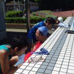 2018/08/22の颯走塾水曜マラソン練習会in織田フィールド4