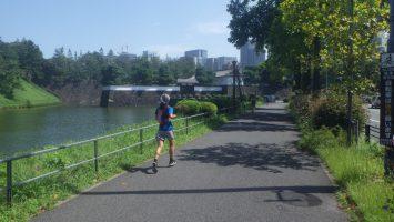2018/09/05の颯走塾水曜マラソン練習会in皇居2