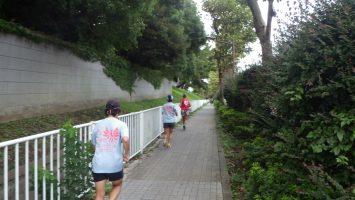 2018/09/15の颯走塾水曜マラソン練習会in東宮4
