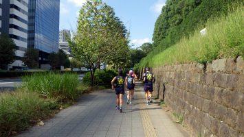 2018/10/10の颯走塾水曜マラソン練習会in東宮1