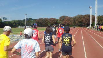 2018/10/17の颯走塾水曜マラソン練習会in織田フィールド2