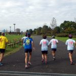 2018/11/07の颯走塾水曜マラソン練習会in舎人公園4