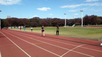 2018/11/14の颯走塾水曜マラソン練習会in織田フィールド7