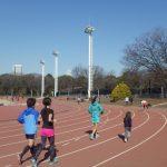 2019/01/23の颯走塾水曜マラソン練習会in織田フィールド5