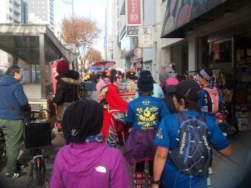 2018/12/26の颯走塾・東京オリンピックマラソンコース試走会4