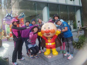 2018/12/26の颯走塾・東京オリンピックマラソンコース試走会5