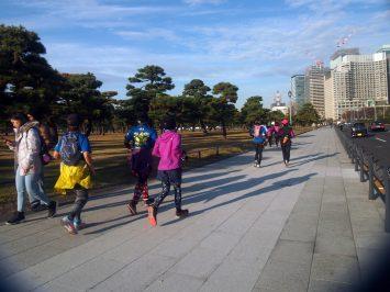 2018/12/26の颯走塾・東京オリンピックマラソンコース試走会13