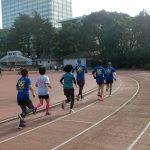 2019/01/30の颯走塾水曜マラソン練習会in織田フィールド2