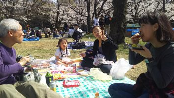2019/03/27のランチは代々木公園でお花見2