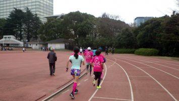 2019/02/27の颯走塾水曜マラソン練習会in織田フィールド2