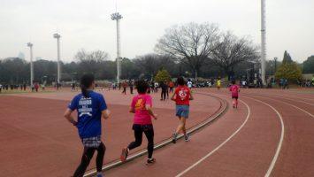 2019/03/06の颯走塾水曜マラソン練習会in織田フィールド3