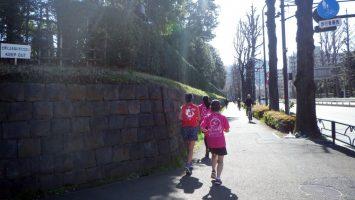2019/03/13の颯走塾水曜マラソン練習会in東宮5