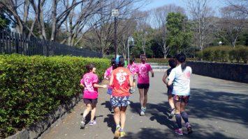 2019/03/20の颯走塾水曜マラソン練習会in織田フィールド2