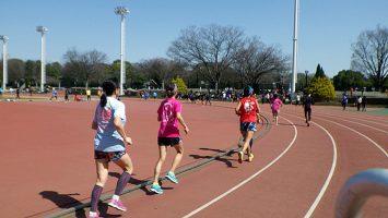 2019/03/20の颯走塾水曜マラソン練習会in織田フィールド3