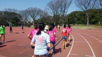 2019/03/20の颯走塾水曜マラソン練習会in織田フィールド4