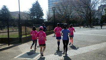 2019/03/27の颯走塾水曜マラソン練習会in織田フィールド1