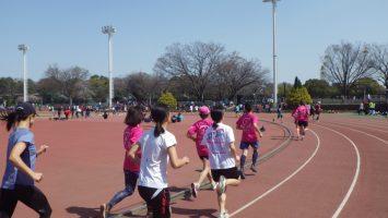 2019/03/27の颯走塾水曜マラソン練習会in織田フィールド3