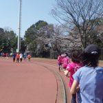 2019/03/27の颯走塾水曜マラソン練習会in織田フィールド4