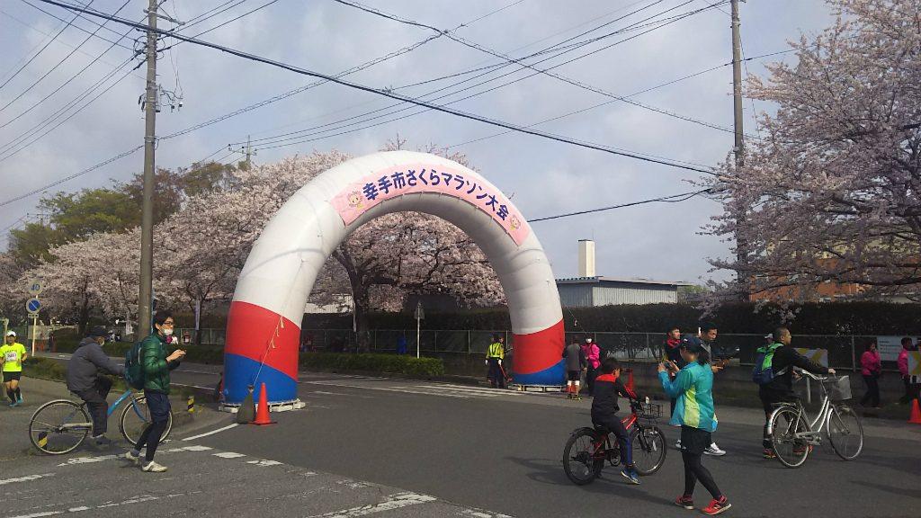 2019/04/07幸手市さくらマラソンにて