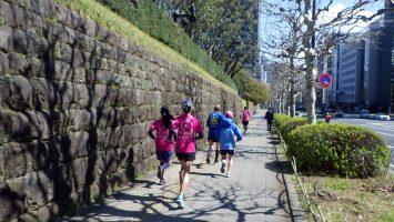 2019/04/03の颯走塾水曜マラソン練習会in東宮3