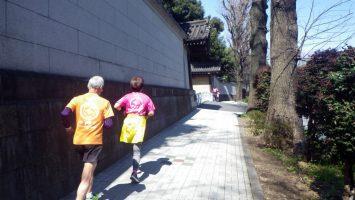 2019/04/03の颯走塾水曜マラソン練習会in東宮4
