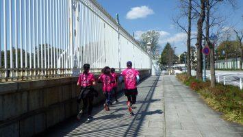 2019/04/03の颯走塾水曜マラソン練習会in東宮5
