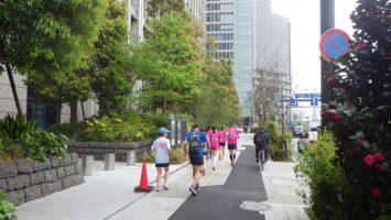 2019/04/17の颯走塾水曜マラソン練習会in皇居2