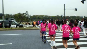 2019/04/17の颯走塾水曜マラソン練習会in皇居3