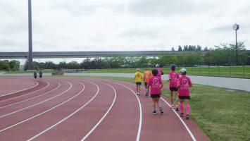 2019/05/01の颯走塾水曜マラソン練習会in舎人公園2