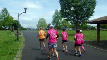 2019/05/01の颯走塾水曜マラソン練習会in舎人公園3