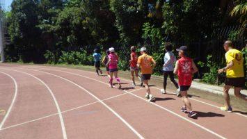 2019/05/08の颯走塾水曜マラソン練習会in織田フィールド1