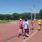 2019/05/08の颯走塾水曜マラソン練習会in織田フィールド2