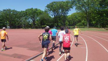 2019/05/08の颯走塾水曜マラソン練習会in織田フィールド5
