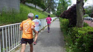 2019/05/15の颯走塾水曜マラソン練習会in東宮2