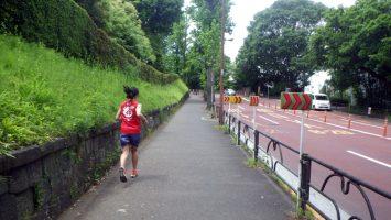 2019/05/15の颯走塾水曜マラソン練習会in東宮4