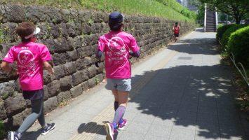 2019/05/15の颯走塾水曜マラソン練習会in東宮6