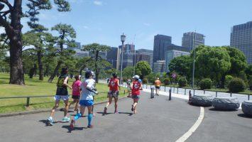 2019/05/22の颯走塾水曜マラソン練習会in皇居4
