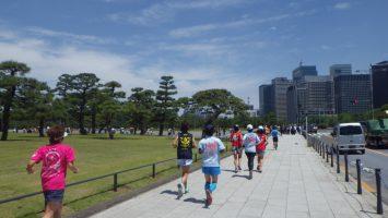 2019/05/22の颯走塾水曜マラソン練習会in皇居5
