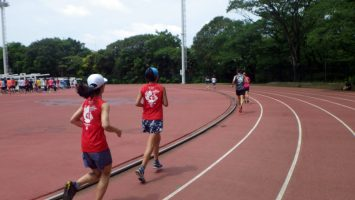 2019/05/29の颯走塾水曜マラソン練習会in織田フィールド2