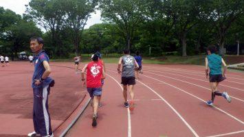 2019/05/29の颯走塾水曜マラソン練習会in織田フィールド4