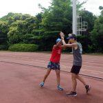 2019/05/29の颯走塾水曜マラソン練習会in織田フィールド6